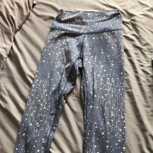 aerie Blue Starry Leggings